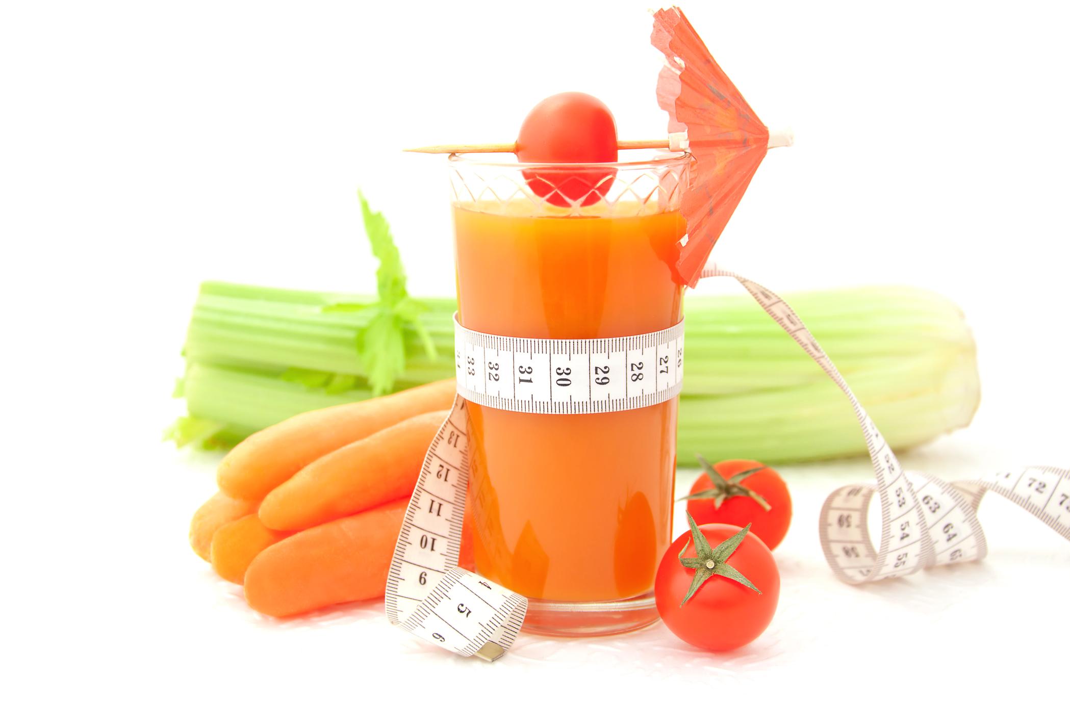 one week liquid diet
