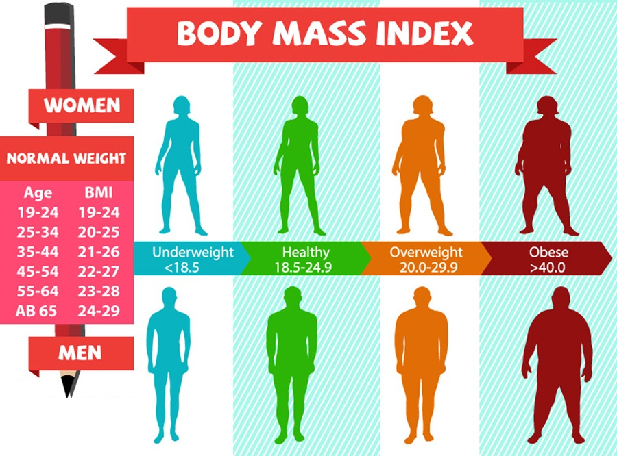 normal bmi for women