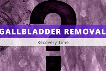 gallbladder removal recovery time
